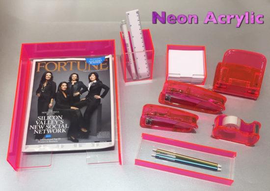 Acrylic Neon Pink